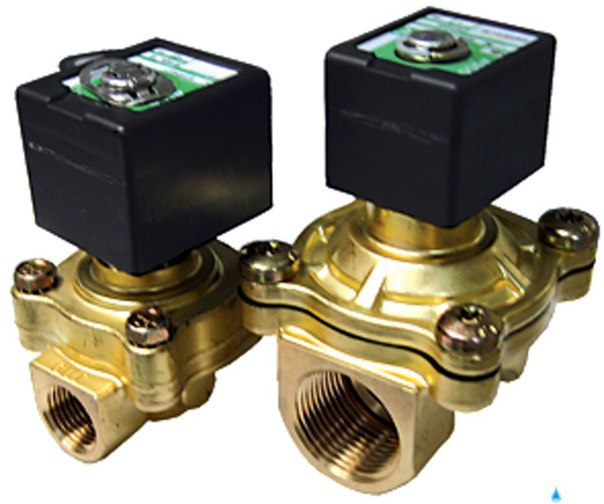 Клапан соленоидный регулируемый, пропускная способность 2,5 л/мин